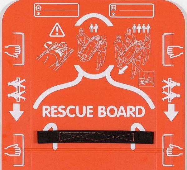 画像1: 緊急用簡易担架 レスキューボード (1)